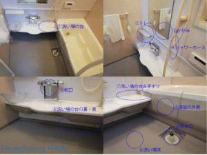 お風呂の石鹸カス、カビは難敵!